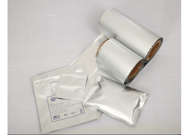 Btree ESD Protection Film, PET/AL/Nylon/PE, Opaque
